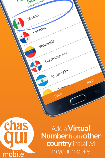 Chasqui Mobile- screenshot