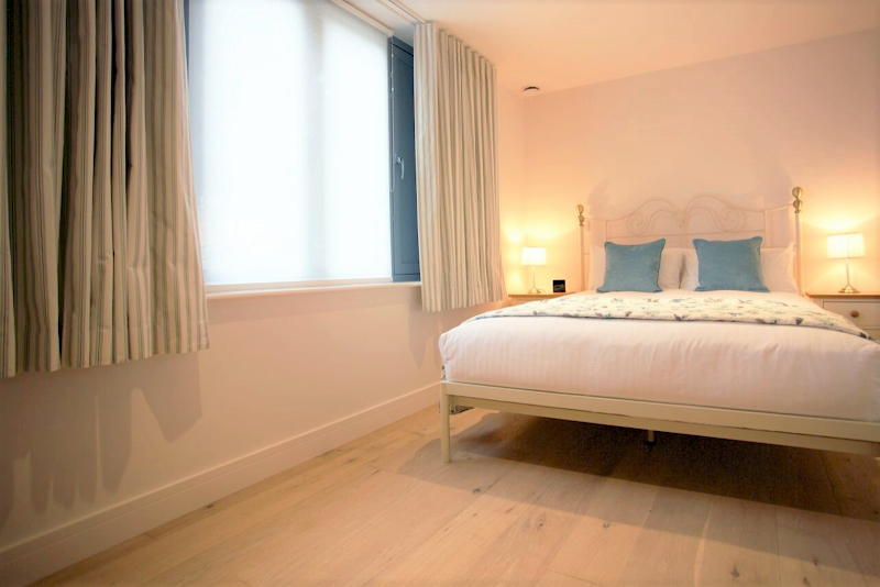 Luxury bedroom at Pringle House One Bedroom