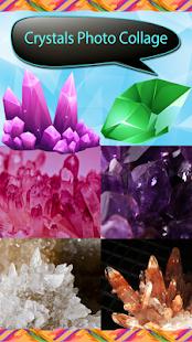 Krystalová fotografická koláž - náhled