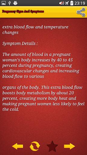 玩免費遊戲APP|下載Pregnancy Signs And Symptoms app不用錢|硬是要APP