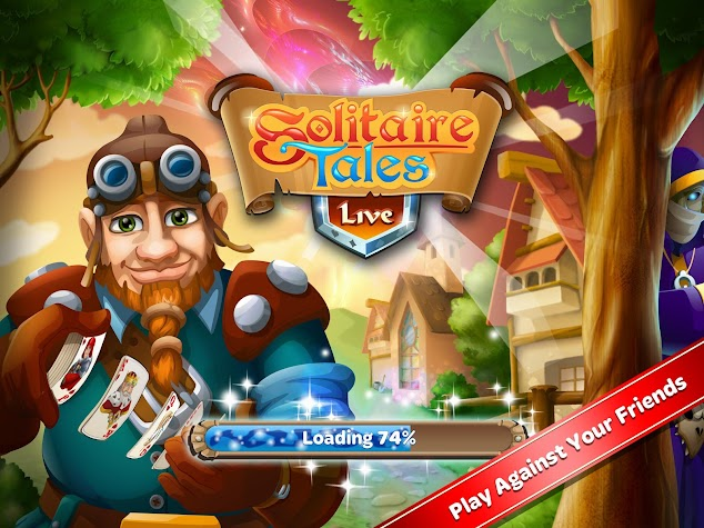 Solitaire Tales Live Screenshot