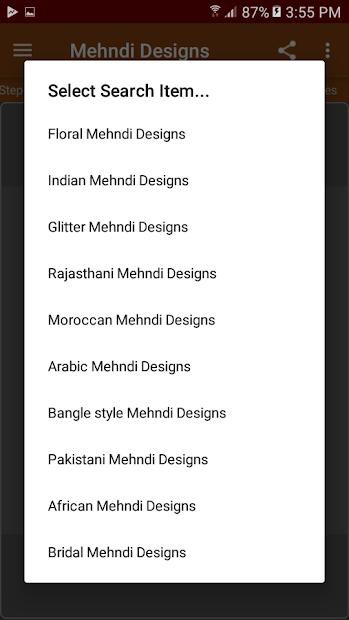 Mehndi Designs (offline) screenshot 5