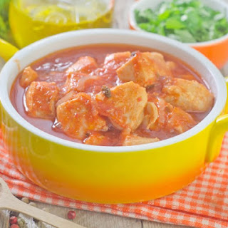 Pressure Cooker Chicken In Orange Sauce