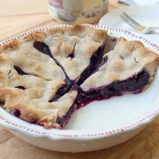 Fresh Blueberry Pie.