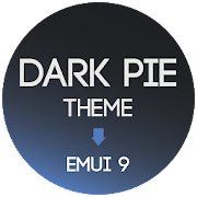 Dark Pie EMUI 9 Theme for Huawei