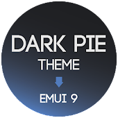 Dark Pie EMUI 9 Theme for Huawei Icon