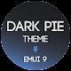 Dark Pie EMUI 9 Theme for Huawei/Honor