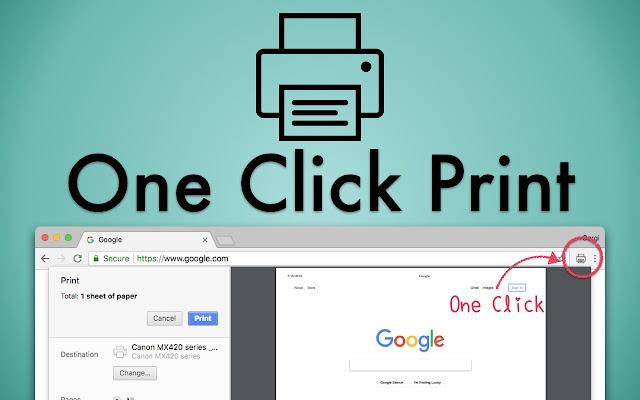 One Click Print
