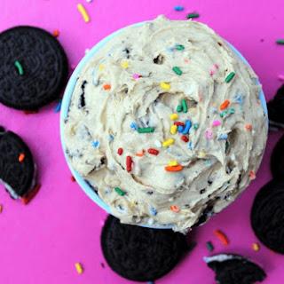Edible OREO Birthday Cake Cookie Dough Recipe