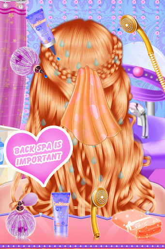 Fashion Braid Hairstyles Salon-girls games 8.7 androidappsheaven.com 1