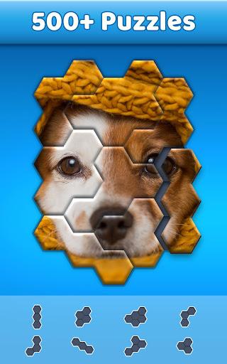 Hexa Jigsaw Puzzleu2122  screenshots 4