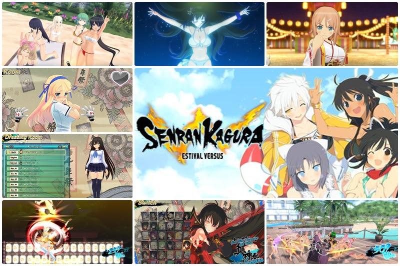 [Senran Kagura] ภาค Estival Versus บุก Steam …พร้อม DLC จัดเต็ม!