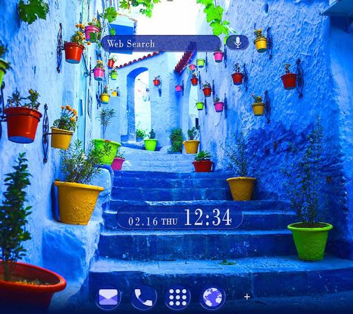 Beautiful Theme Blue Chaouen 1.0.0 Windows u7528 1