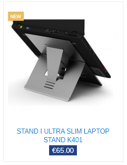homeworkers laptop stand