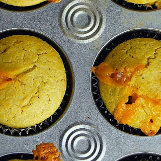 Cheese and Pesto Corn Muffins Recipe