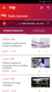 RNE En Directo- screenshot thumbnail