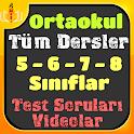 5, 6, 7, 8. Sınıf Lgs Tüm dersler Video ve Testler icon