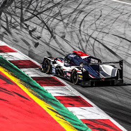 United Autosports at Spielberg by Aljaž Pristov - Sports & Fitness Motorsports ( spielberg, european lemans series, red bull ring, united autosports, race )