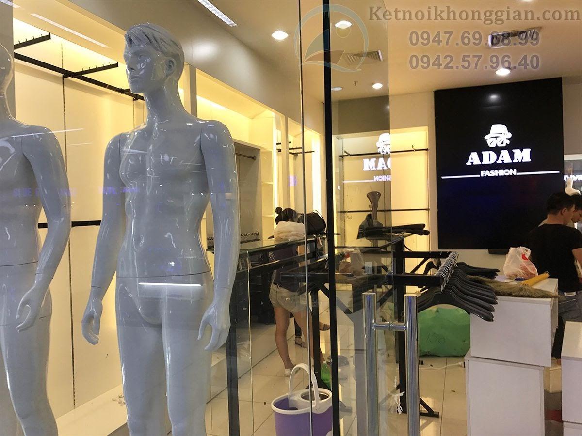 thiết kế shop thời trang thoáng và rộng 40m2