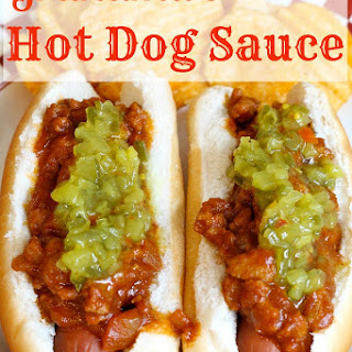 Hot Dog Sauce With Ground Beef Recipes.