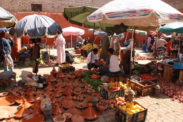 Bancarelle Marocchine di MORENO ANTOGNOLI