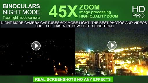 Binoculars Night Mode (45x zoom)