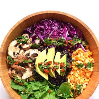 Raw Vegan Buddha Bowl.