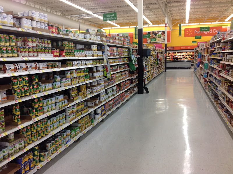 Photo: I went to the canned fruit and vegetables isle to find the Del Monte Fruit Cups.