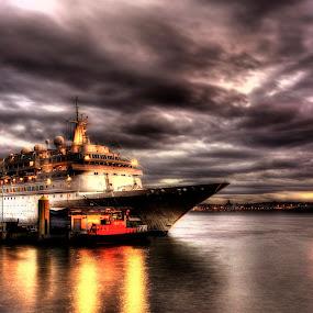 BOUDICCA by Derek Tomkins - Transportation Boats