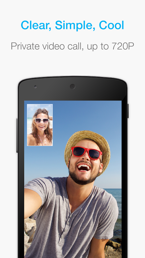 JusTalk - free video calls and fun video chat app- screenshot