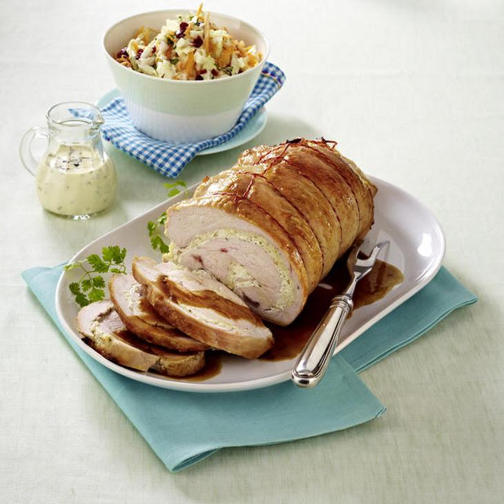 Glazed Turkey with Coleslaw