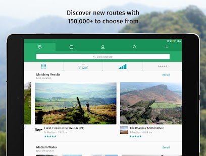 ViewRanger - Explore Rides & Hiking Routes- screenshot thumbnail