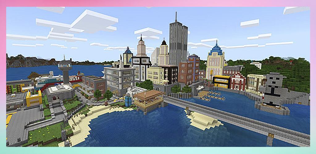 Maps for Minecraft PE Cities APK - Download APK Version 2 3 1