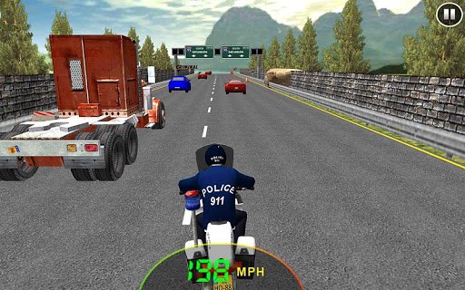 911 Traffic Police Bike Rider