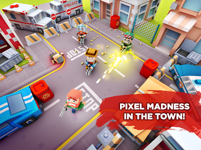 Pixel Arena Online Multiplayer Blocky Shooter 1.20.0 MOD (Unlimited Coins/Crystals) Apk 6