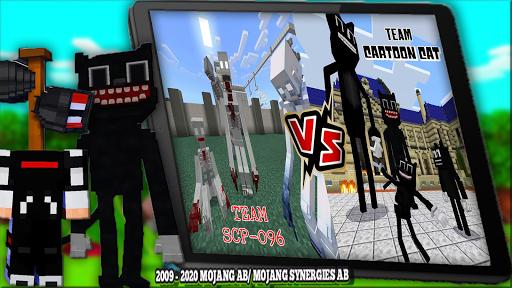 Cartoon Cat Mod & New Siren Head Mod For MCPE apktram screenshots 3