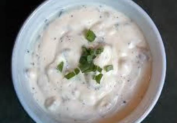 Blender Garlic Roquefort Dressing Recipe