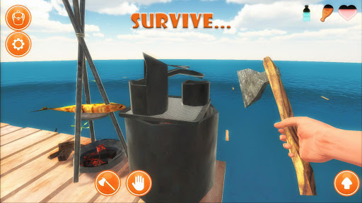 Raft Survival Simulator 1.0.05 screenshots 13