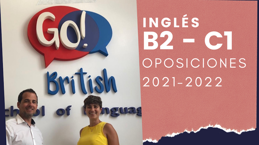 Go! British School of Languages con los opositores.