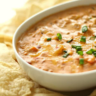 Slow Cooker Warm Chili Cheese Dip.