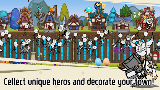 Legend of the cartoon – idle RPG Apk Download For Android and Iphone 8