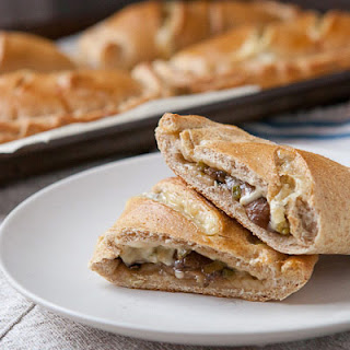 Mushroom and Swiss Pockets Recipe