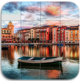 Italy Tile Puzzle
