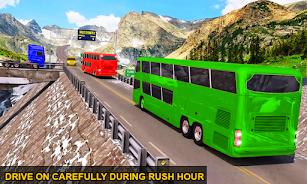دانلود Drive Hill Coach Bus Simulator : Bus Game 2019 اندروید
