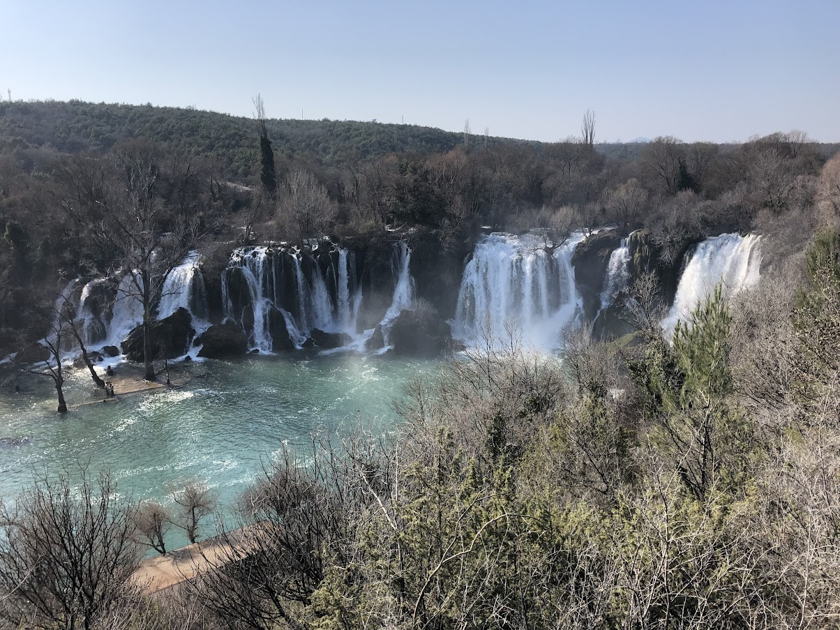 Kravice Waterfalls in Bosnia and Herzegovina