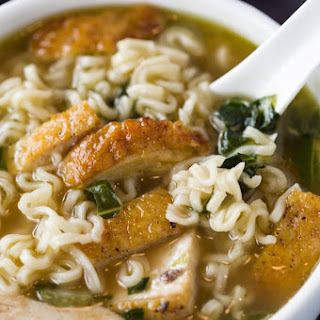 Turkey Ramen Noodle Soup.