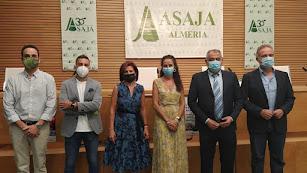 Representantes durante las jornadas de ASAJA-ALMERÍA.