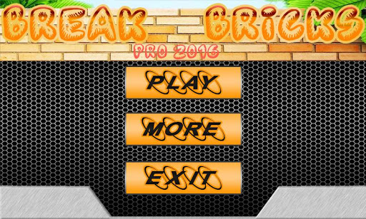 Break Bricks Pro 2016