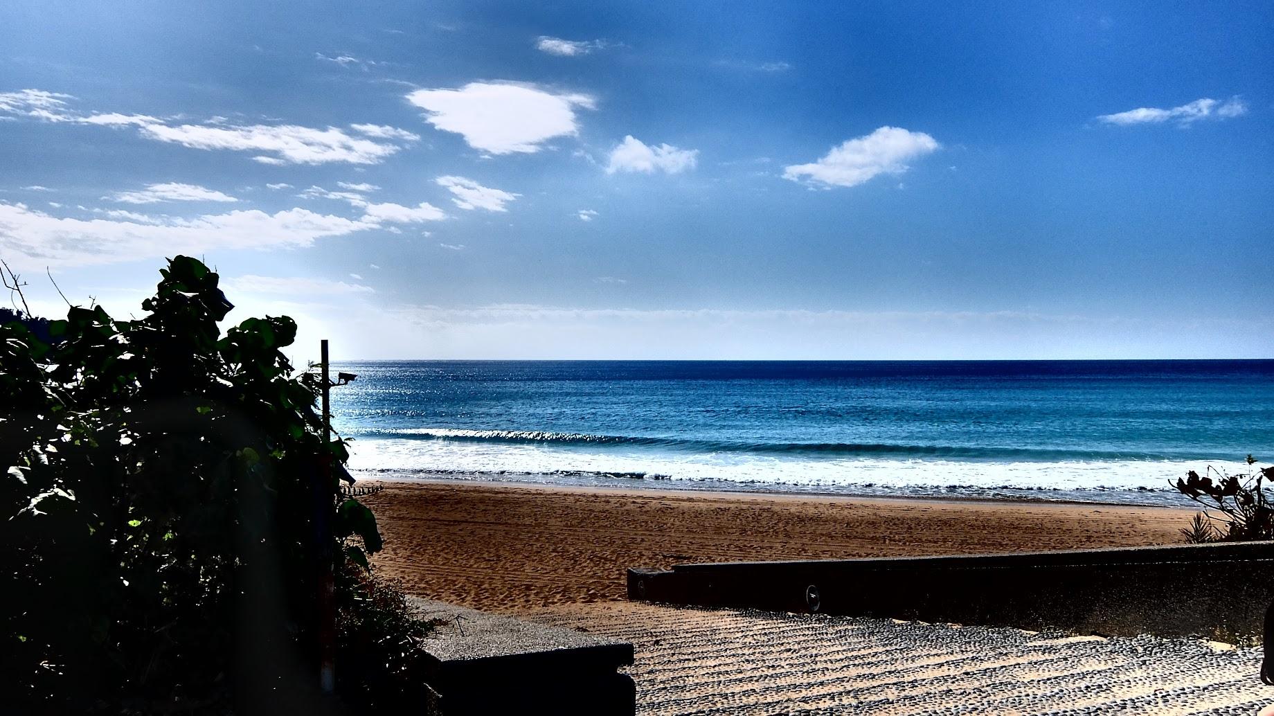 走到末端就可以看到一整片藍藍的海