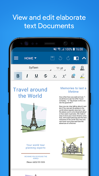 OfficeSuite Pro + PDF Android App Screenshot